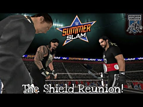 The Shield Reunites At Summerslam | WWE 2K17 PSP | BK WWE