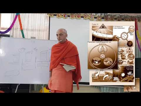 Бхагавад Гита 14 - Ватсала прабху