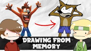 Drawing Characters From Memory vs Grian
