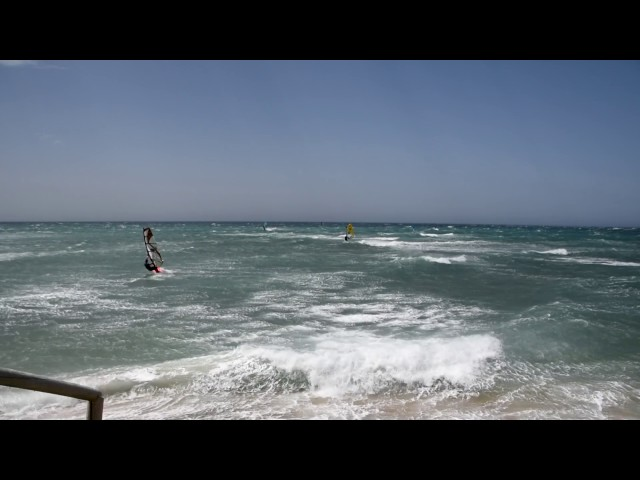Windsurf en Caños de Meca
