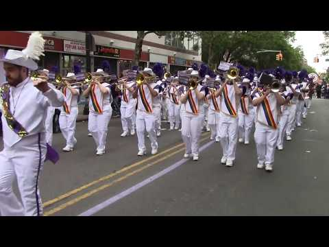 The Lesbian & Gay Big Apple Corps Marching Band performing Can