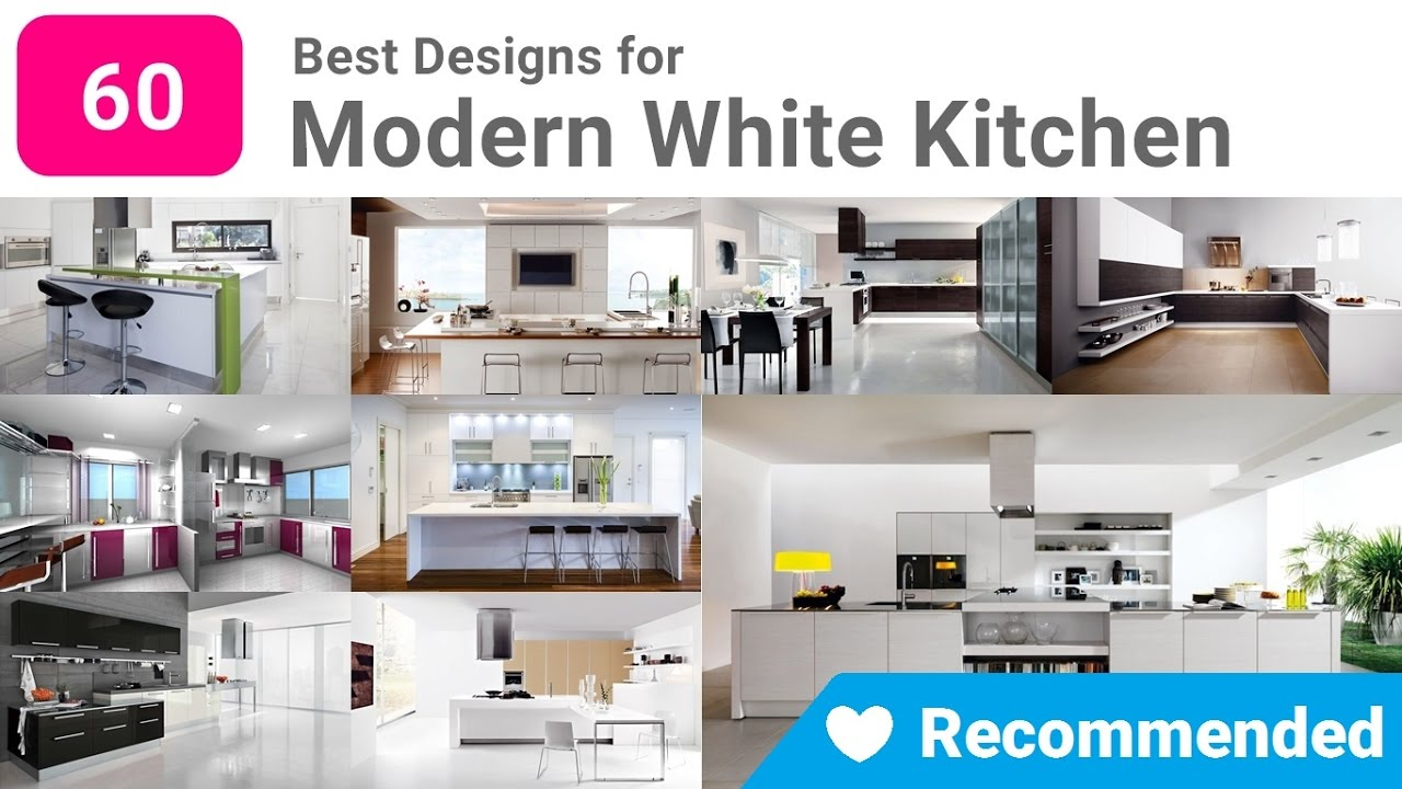 Modern White Kitchen Designs 60 Best Modern White Kitchen Designs Kitchen Paint Color Ideas