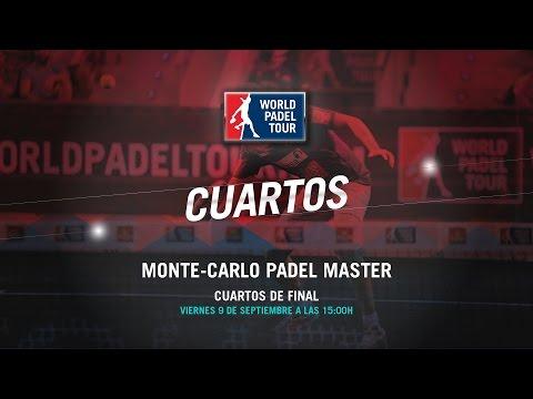 DIRECTO - Cuartos de Final Monte-Carlo Padel Master 2016 | World Padel Tour