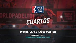 DIRECTO - Cuartos de Final Monte-Carlo Padel Master 2016   World Padel Tour
