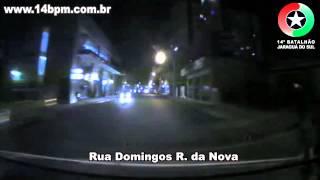 Perseguição a moto - Polícia Militar de Jaraguá do Sul/SC