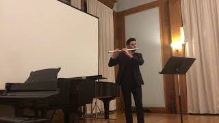 Syrinx for solo flute by Claude Debussy