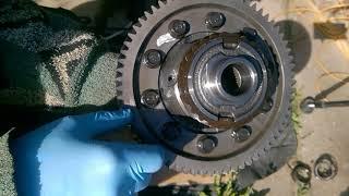 Термическая посадка запрессовка подшипников при ремонте коробки передач