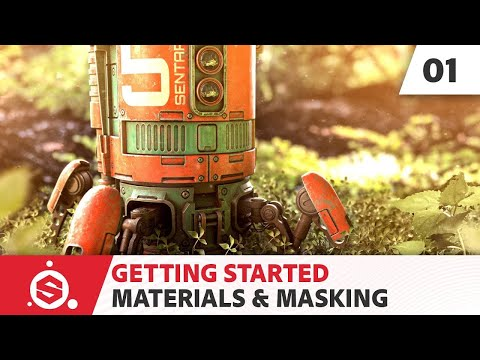 Substance Painter 2021 Getting Started - Part 01 - Materials & masking