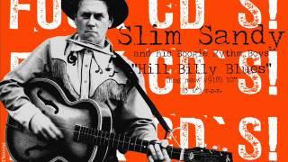 "Slim Sandy ""way You Dance"" (hog Maw 918) 10"" Rockabilly / National Studio 66 Guitar"