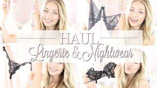 Boux Avenue Lingerie & Nightwear Haul and Underwear Chats | Freddy My Love ad