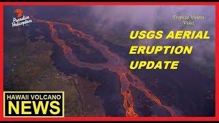 HAWAII KILAUEA VOLCANO : USGS AERIAL UPDATE  (June 20, 2018)