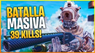 FORTNITE: PARTIDAZA CON CASI 40 KILLS EN 20v20!! | Makina