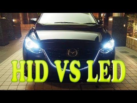 HID Xenón VS LED ¿Cual Es Mejor? Aquí La Respuesta A tu Pregunta