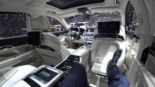 [4k] EXECUTIVE LOUNGE BMW M760Li xDrive with M Sport package SUPERLUXURY