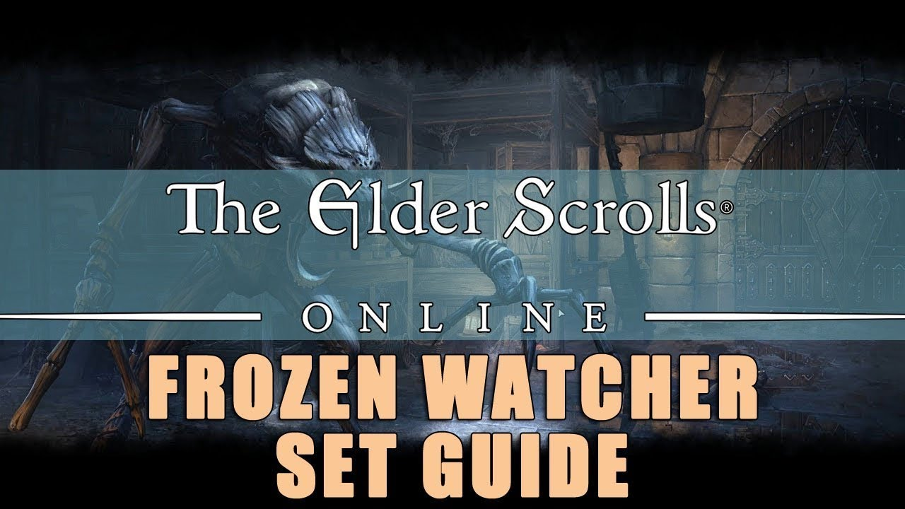 Frozen Watcher: ESO Set Guide - Chilling Defense | Fextralife