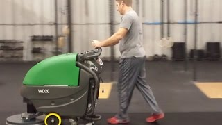 Bulldog Scrubber At Gym