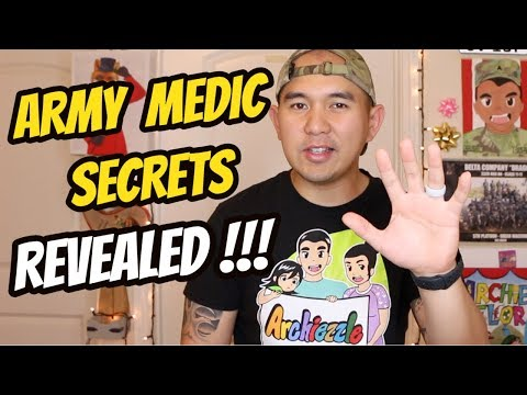 TOP 5 BIGGEST SECRETS FUTURE ARMY MEDICS And SOLDIERS NEED TO KNOW