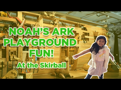 Noah's Ark Playground Fun at the Skirball Cultural Center