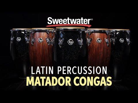 Latin Percussion Matador Congas Demo