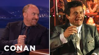Louis C.K.: Joe Pesci Thinks I Suck  - CONAN on TBS