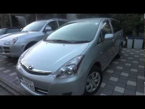 2007 Toyota Wish 4WD - 7 seats - For sale lease used car Tokyo Japan