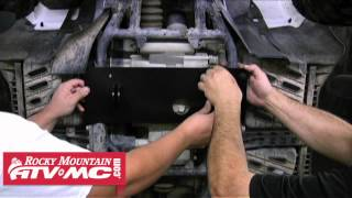 Suzuki King Quad Tusk SubZero ATV Snow Plow Mount Installation