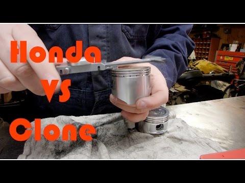 Honda GX160 VS Clone Motor Tolerances