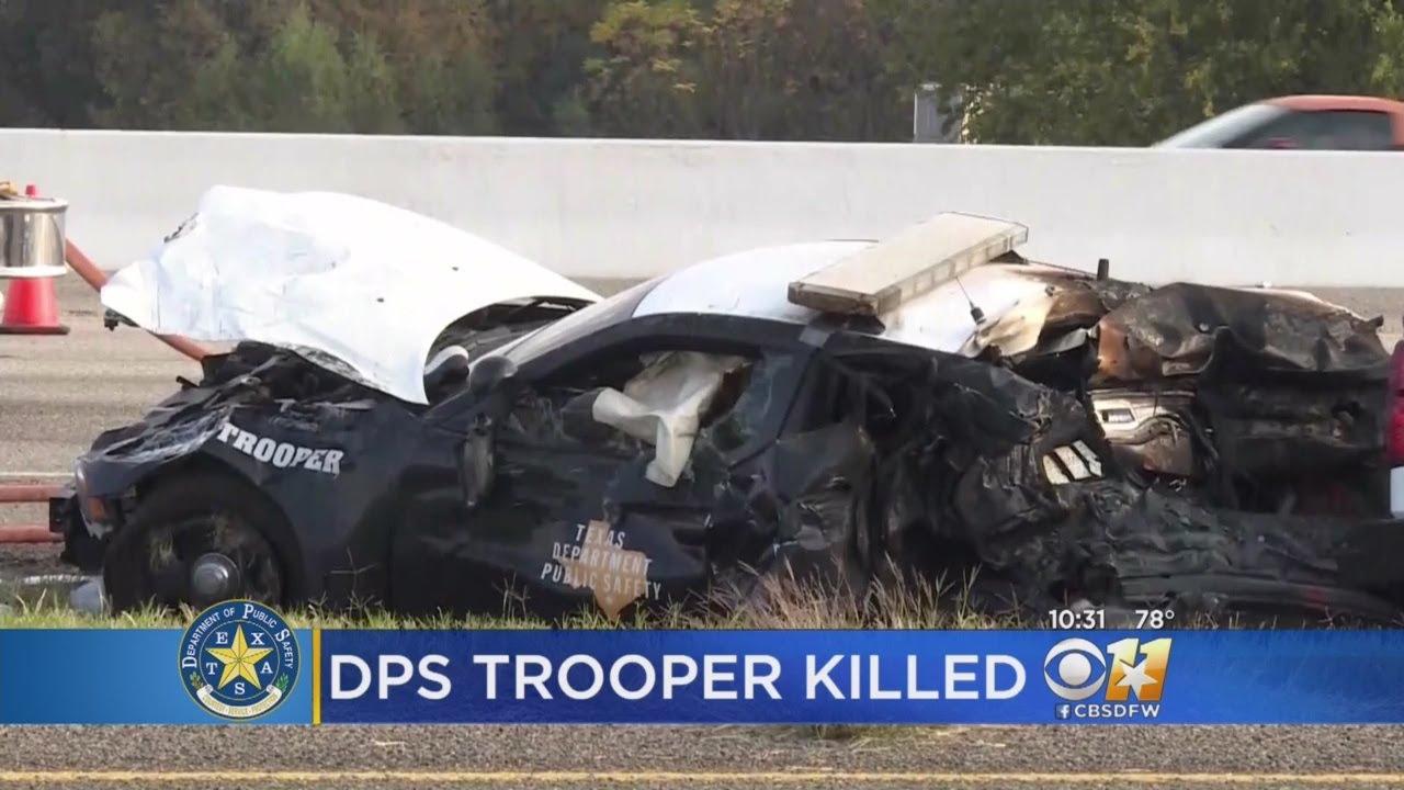 Texas DPS Trooper Dies In Crash During Traffic Stop