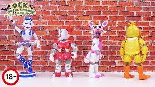 FIVE NIGHTS AT FREDDYS Видеоблог аниматроников. Строительство стены закончено Праздник 2.18