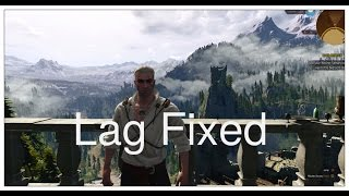 How to fix graphic lags low fps in The Witcher 3 Wild Hunt for pc