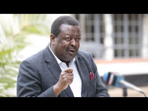 Mudavadi says not interested in any gov\'t appointment, to concentrate on Opposition