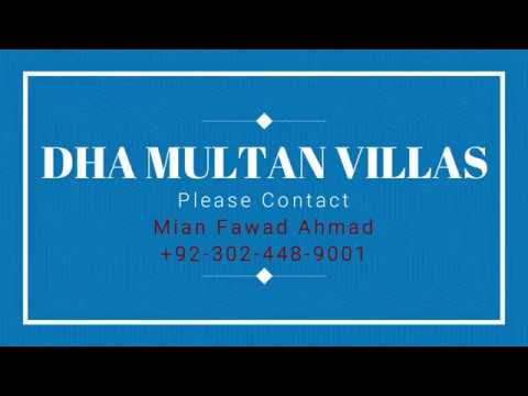 DHA Multan Villas Short Briefing By LRE September 2018