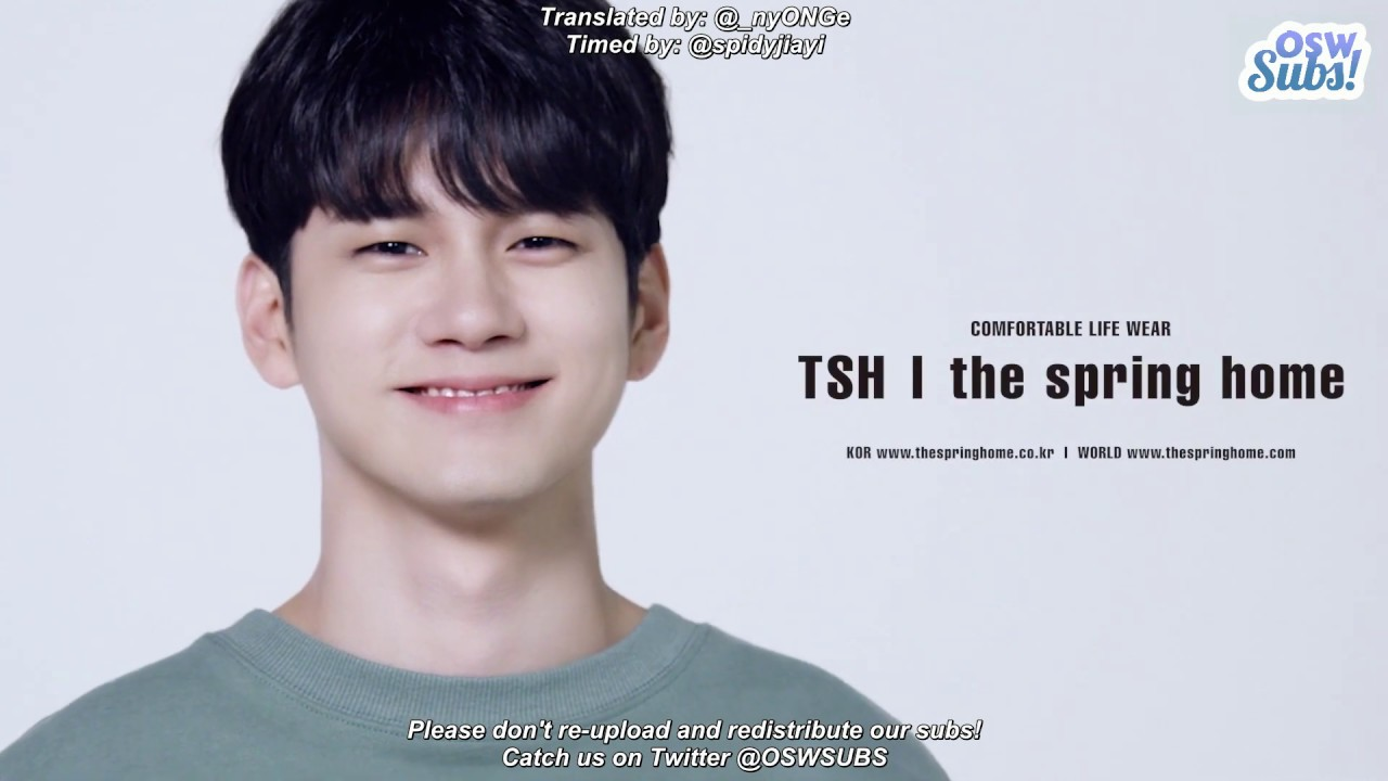 [ENG SUB] 200108 TSH the spring home X Ong Seongwu Project Film [#DO_MYSELF]