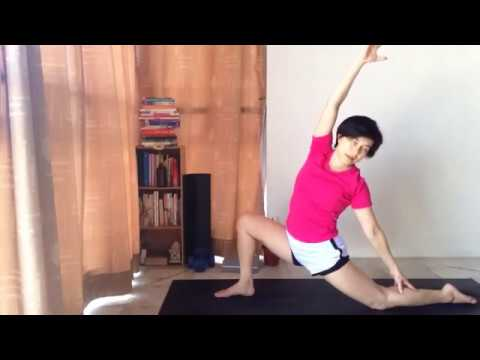 yoga with angeline crow  tripod  youtube