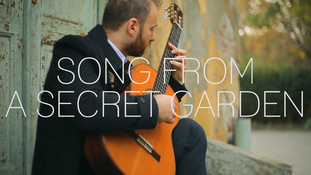 التدوينات الموسيقية: مقطع أغنية من الحديقة السرية Song from