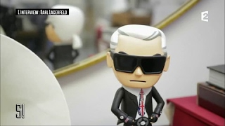 Karl Lagerfeld : L' Interview - Stupéfiant !