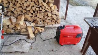 видео [2 кВт] Инверторный цифровой генератор Fubag TI 2000