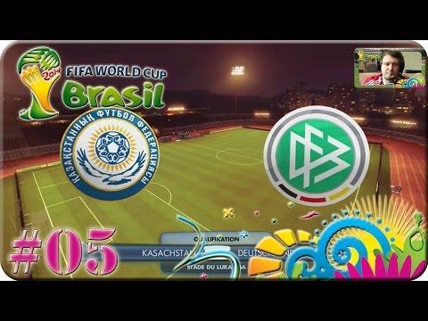 FIFA WM Brasilien 2014 - Kasachstan gg Deutschland [Lets Play #05]