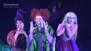 Hocus Pocus Villain Spelltacular 2017 FULL SHOW at Mickey's Not So Scary Halloween Party [4K]
