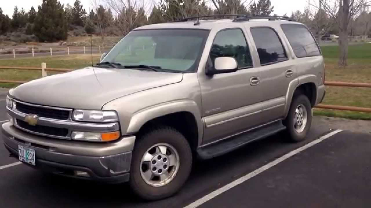 2003 chevy tahoe review youtube 2003 chevy tahoe review