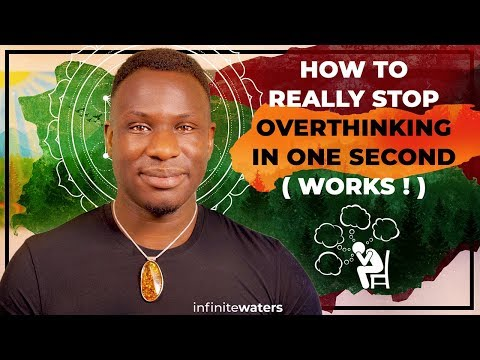 How to Really Stop Overthinking Everything In One Second (Works!)