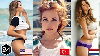 Top 10 Countries With The World's Most Beautiful Women!