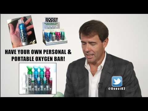 Boost Oxygen, Portable Oxygen handling Altitude Sickness