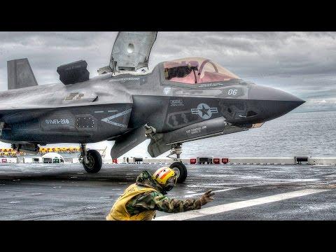 F-35B Lightning II Undergo Final Testing On Amphibious Assault Ship