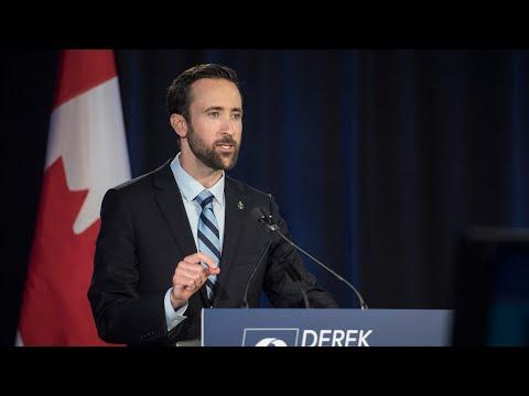 Erin O'Toole kicks out Derek Sloan from Conservative caucus