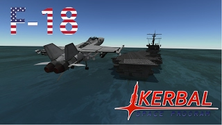 F-18 Combat Cinematic Kerbal Space Program