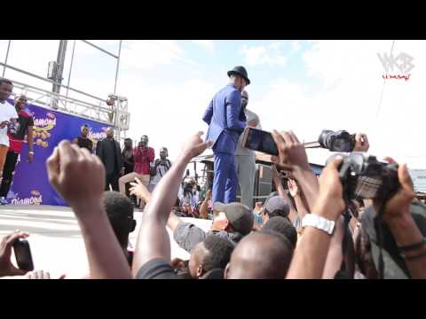 Diamond Platnumz - Launched New Product called( DIAMONDKARANGA)