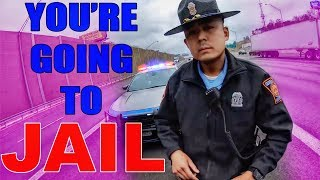 ANGRY & COOL COPS VS BIKERS | POLICE IMPOUND BIKERS MOTORCYCLE