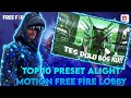 Presetalightmotion Presetlobby Freefireedit Top  Preset Alight Motion Ff Keren Preset Lobby  Mp3 - Mp4 Download
