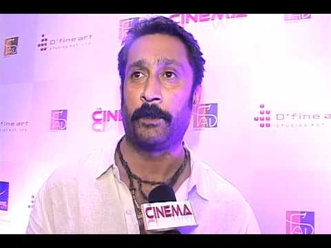 "Mukesh Tiwari Interview at launch of ""It's Cinema.com"""